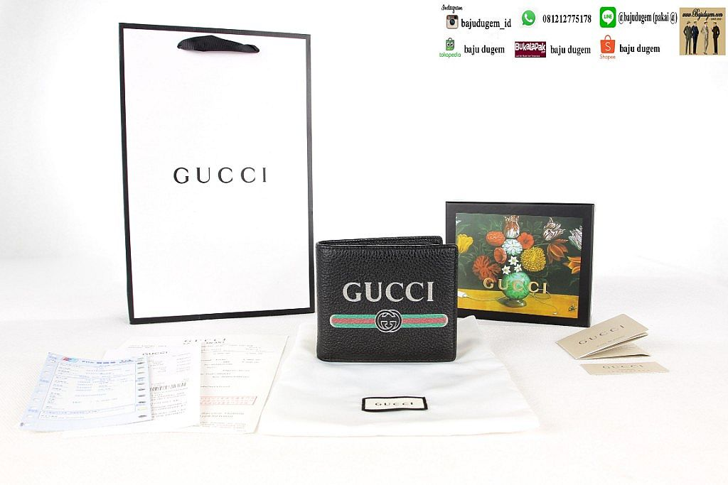 Dompet Gu cci Mirror 1:1 Import Quality ( W GC 8)